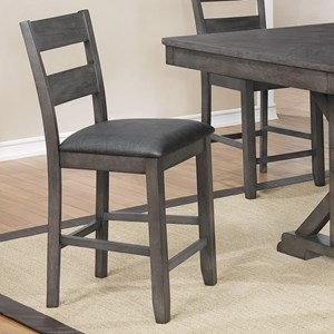 Crown Mark Sable Counter Height Chair