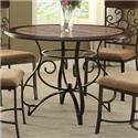 Crown Mark Sarah Dining Table - Item Number: 1811T-45-LEG+TOP