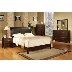 Crown Mark Serena Bedroom Group