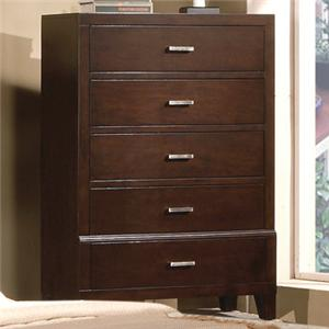 Crown Mark Serena 5 Drawer Chest