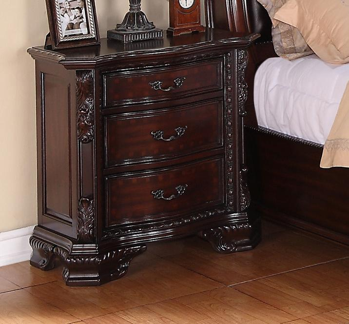 Crown Mark Sheffield Night Stand - Item Number: B1100-2