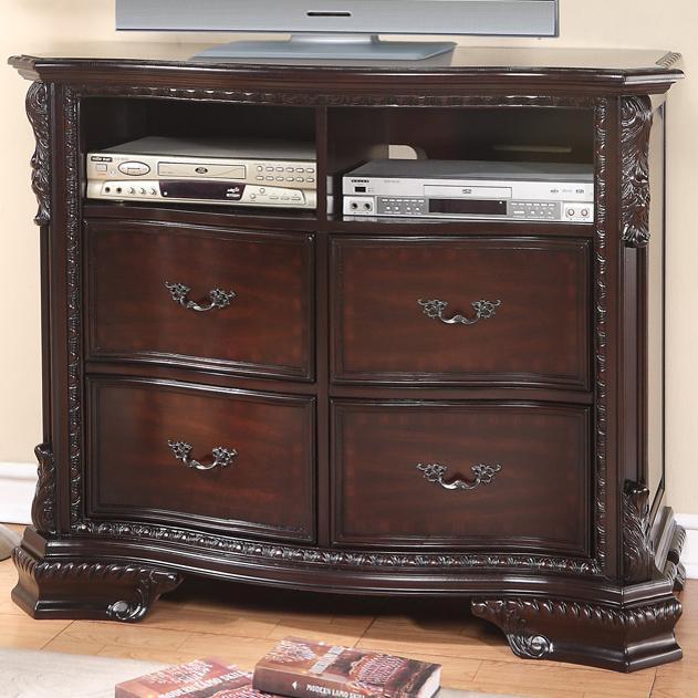 Crown Mark Sheffield Media Chest - Item Number: B1100-7