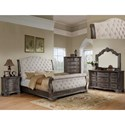 Rooms Collection One Sheffield Queen Bedroom Group - Item Number: B1120 Q Bedroom Group 2
