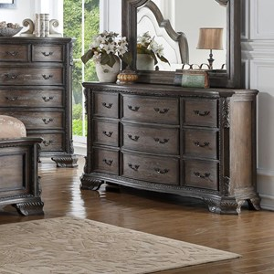 Crown Mark Sheffield Dresser