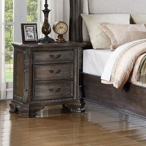 Crown Mark Sheffield Night Stand