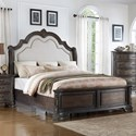 Crown Mark Sheffield Queen Panel Bed - Item Number: B1120-Q-HB+FB+KQ-RAIL