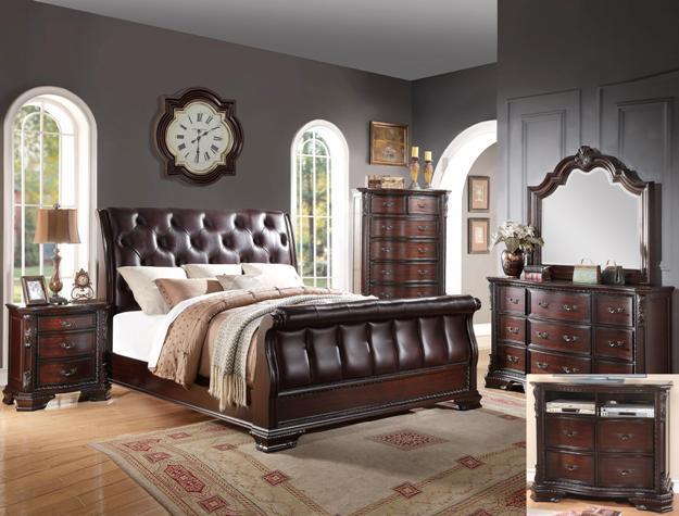 Crown Mark Sheffield Queen Bedroom Group  - Item Number: B1150 Q Bedroom Group 1