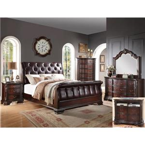 Crown Mark Sheffield Queen Bedroom Group