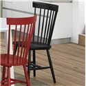 Crown Mark Shelli3 Side Chair - Item Number: 2301S-BK