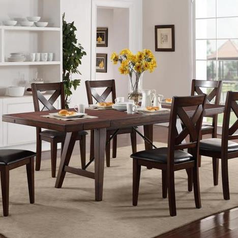 Crown Mark Sierra Dining Table - Item Number: 2103T-4295