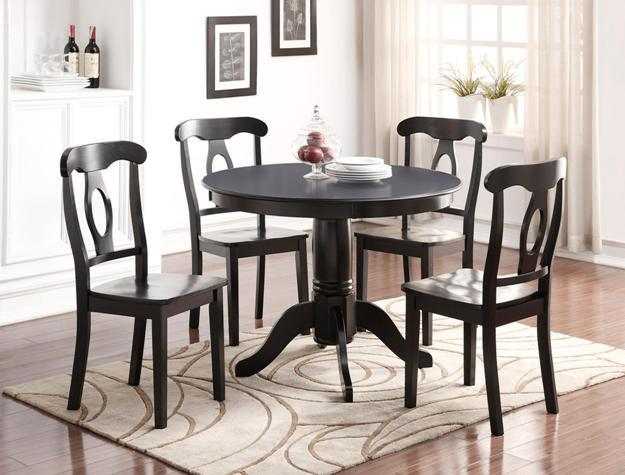 Crown Mark Sofia Table and Chair Set - Item Number: 2183SET