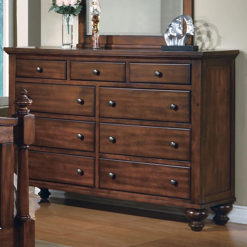 Crown Mark Sommer 9 Drawer Dresser - Item Number: B1301