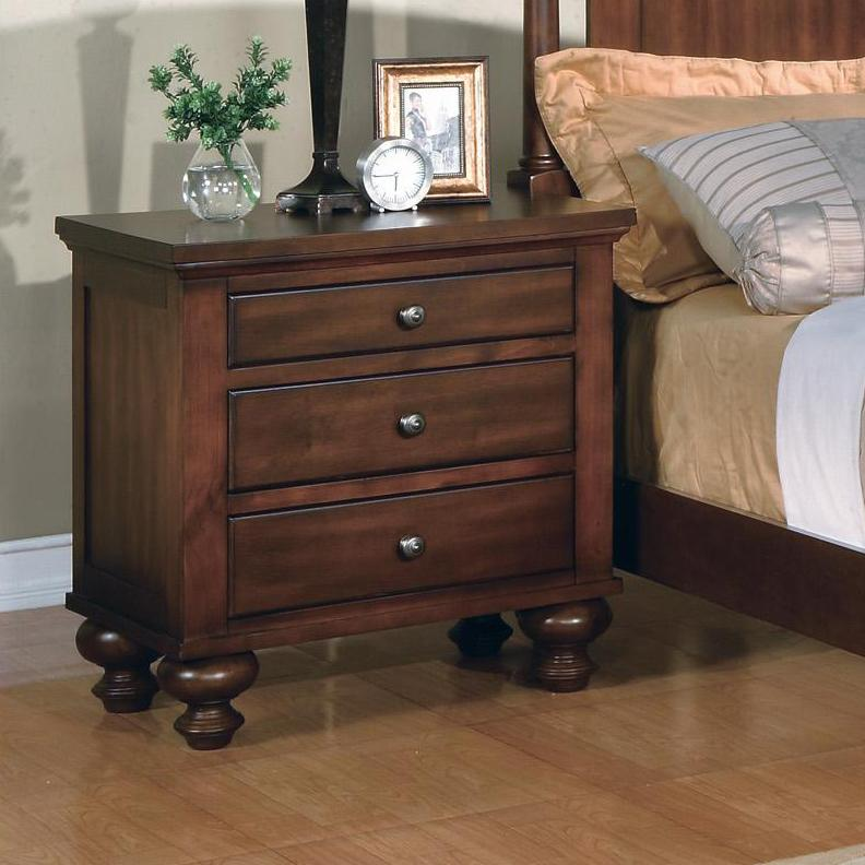 Crown Mark Sommer  Night Stand         - Item Number: B1302