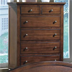 Crown Mark Sommer 6-Drawer Chest