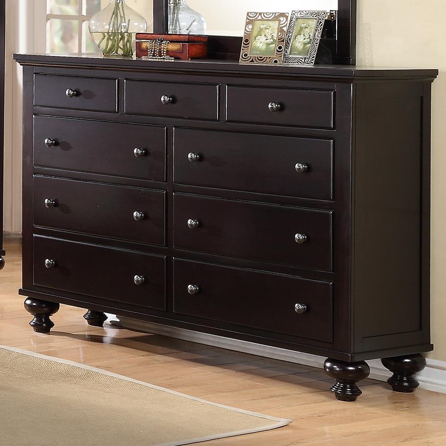 Crown Mark Sommer 9 Drawer Dresser - Item Number: B1350-1