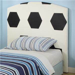 Crown Mark Sport Themed Twin Soccer Headboard