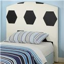 Crown Mark Sport Themed Twin Soccer Headboard - Item Number: 5004