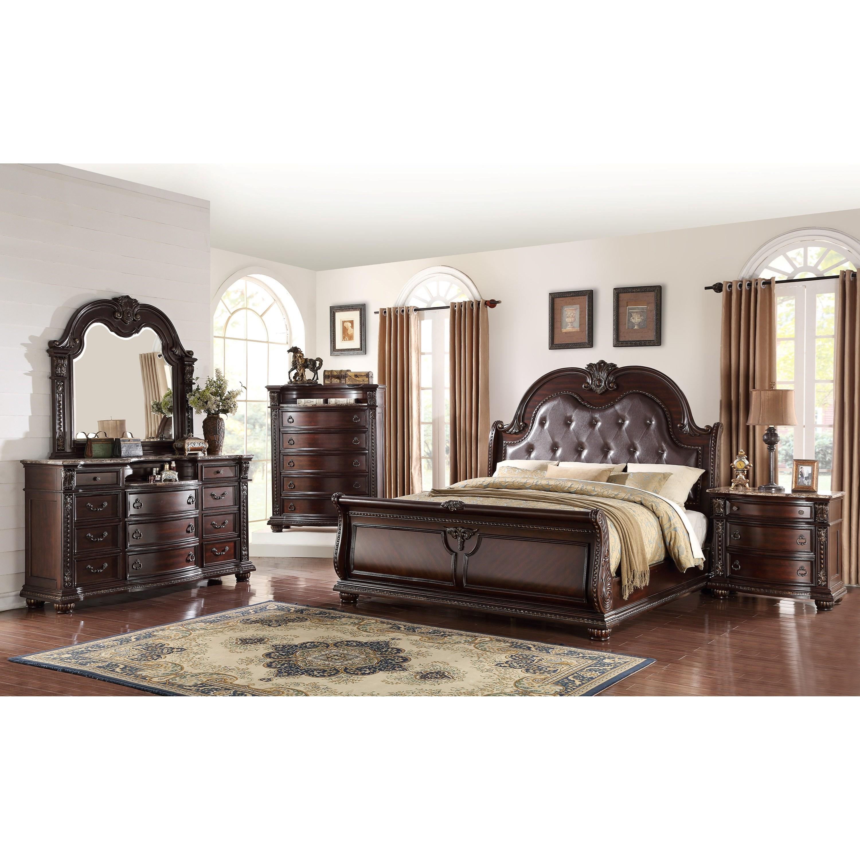 Crown Mark Farrow Queen Bedroom Group: Crown Mark Stanley Bedroom Queen Bedroom Group