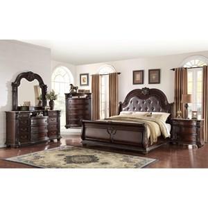 Crown Mark Stanley Bedroom Queen Bedroom Group
