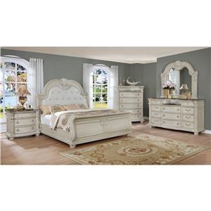 Crown Mark Stanley 6-Piece Bedroom Group