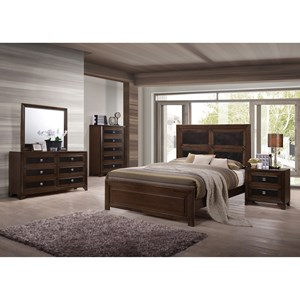 Crown Mark Sussex Queen Bedroom Group