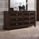 Crown Mark Sussex Dresser - Item Number: B6950-1