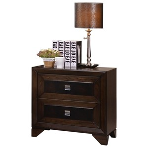 Crown Mark Sussex Nightstand