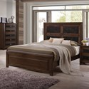 Crown Mark Sussex Queen Bed - Item Number: B6950-Q-HB+KQ-RAIL+Q-FB