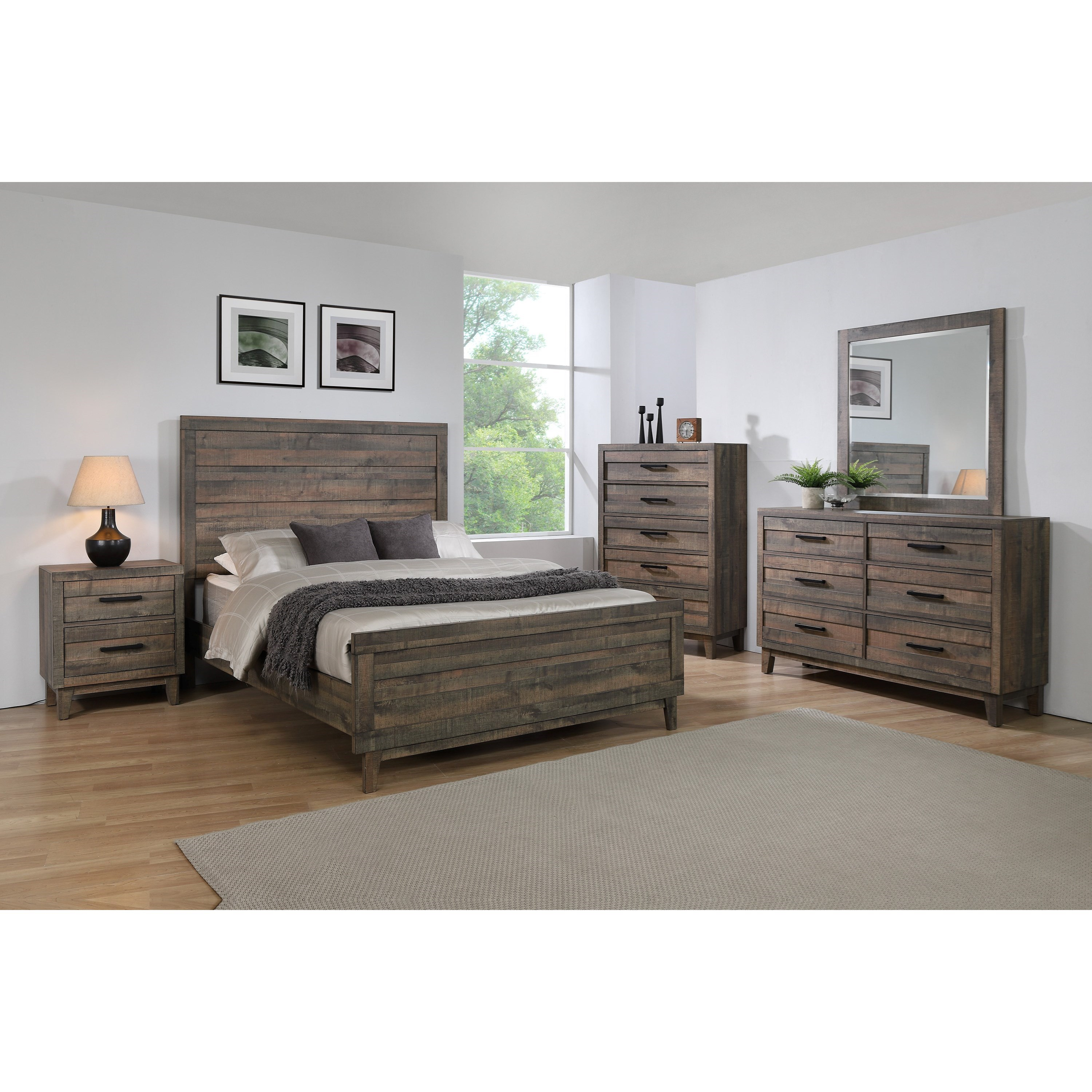 Crown Mark Farrow Queen Bedroom Group: Crown Mark Tacoma Queen Bed Room Group