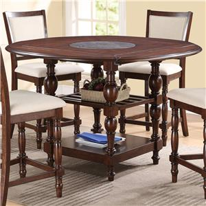 Crown Mark Tremont Counter Height Pub Table