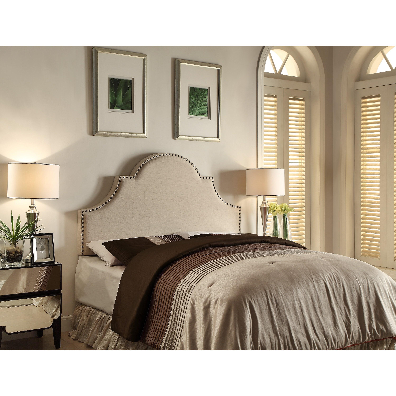 Crown Mark Upholstered Headboards Lenore Full/Queen Headboard - Item Number: 5284-FQ-HB
