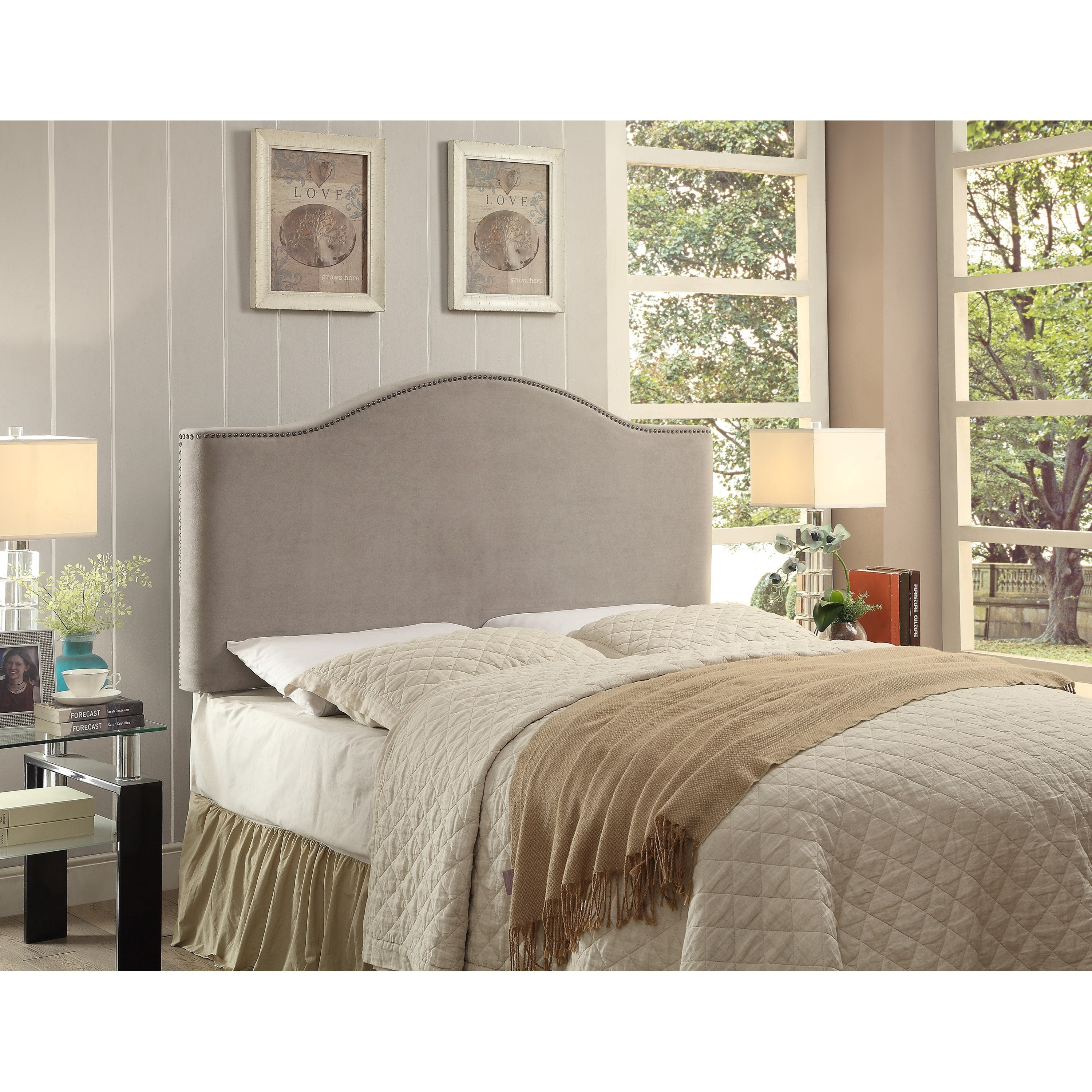 Crown Mark Upholstered Headboards Beatrice Full/Queen Headboard - Item Number: 5285-FQ-HB