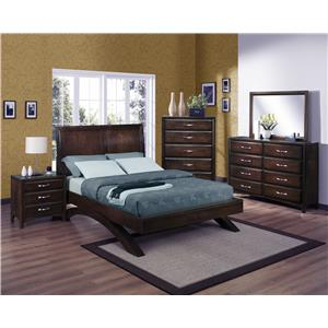 Crown Mark Vera California King Bedroom Group