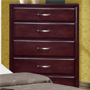 Crown Mark Vera 5 Drawer Chest