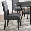 Crown Mark Wallace Dining Chair - Item Number: 1213DGY-S