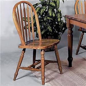 Crown Mark Windsor Solid Dining Side Chair