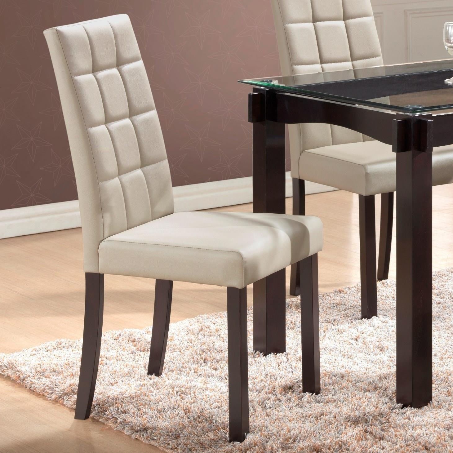 Crown Mark Zora Dining Chair - Item Number: 1220S-GY