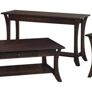 Crystal Valley Hardwoods Catalina Sofa Table