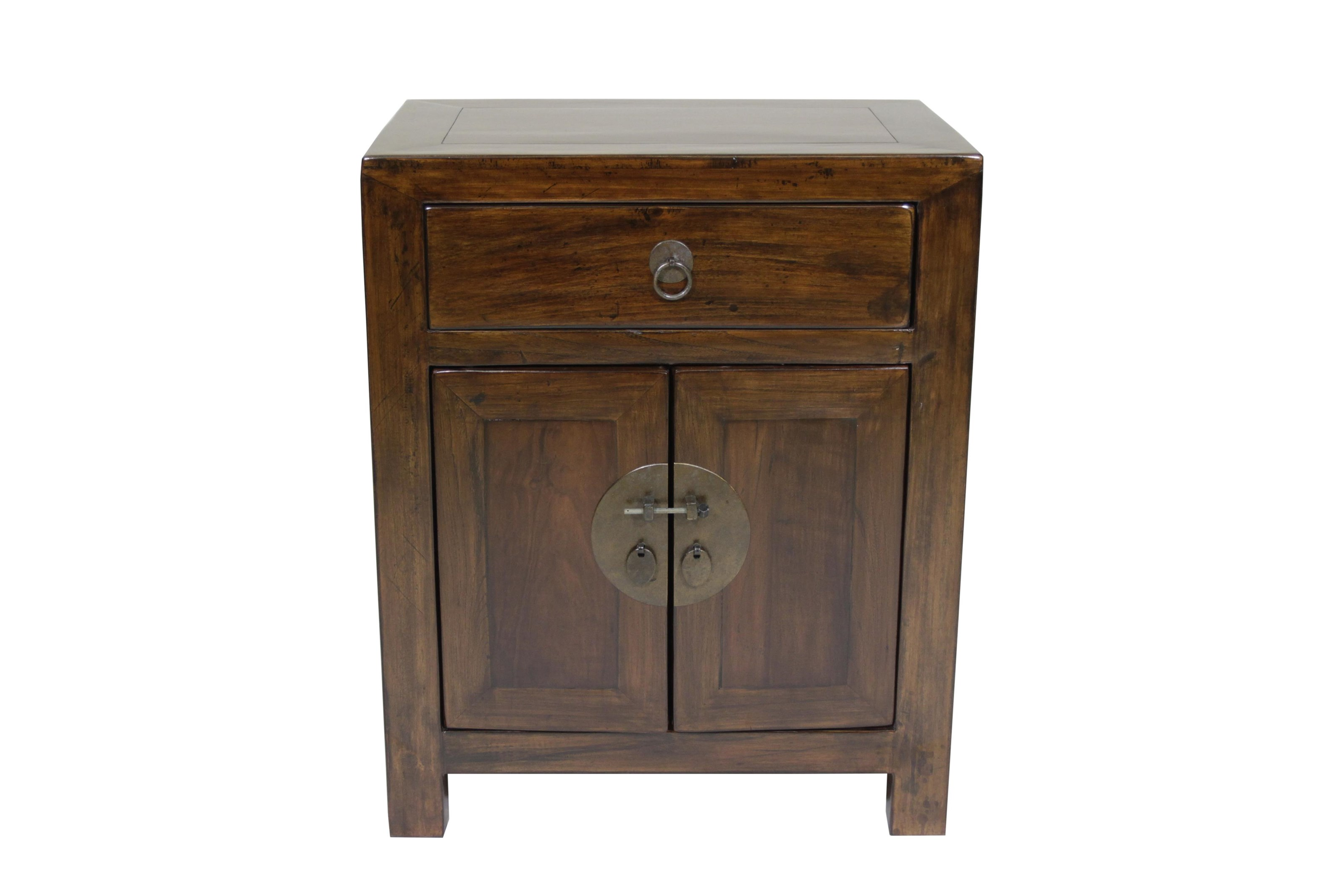 C.S. Wo & Sons Antiques   Bedside Cabinet - Item Number: 130AB