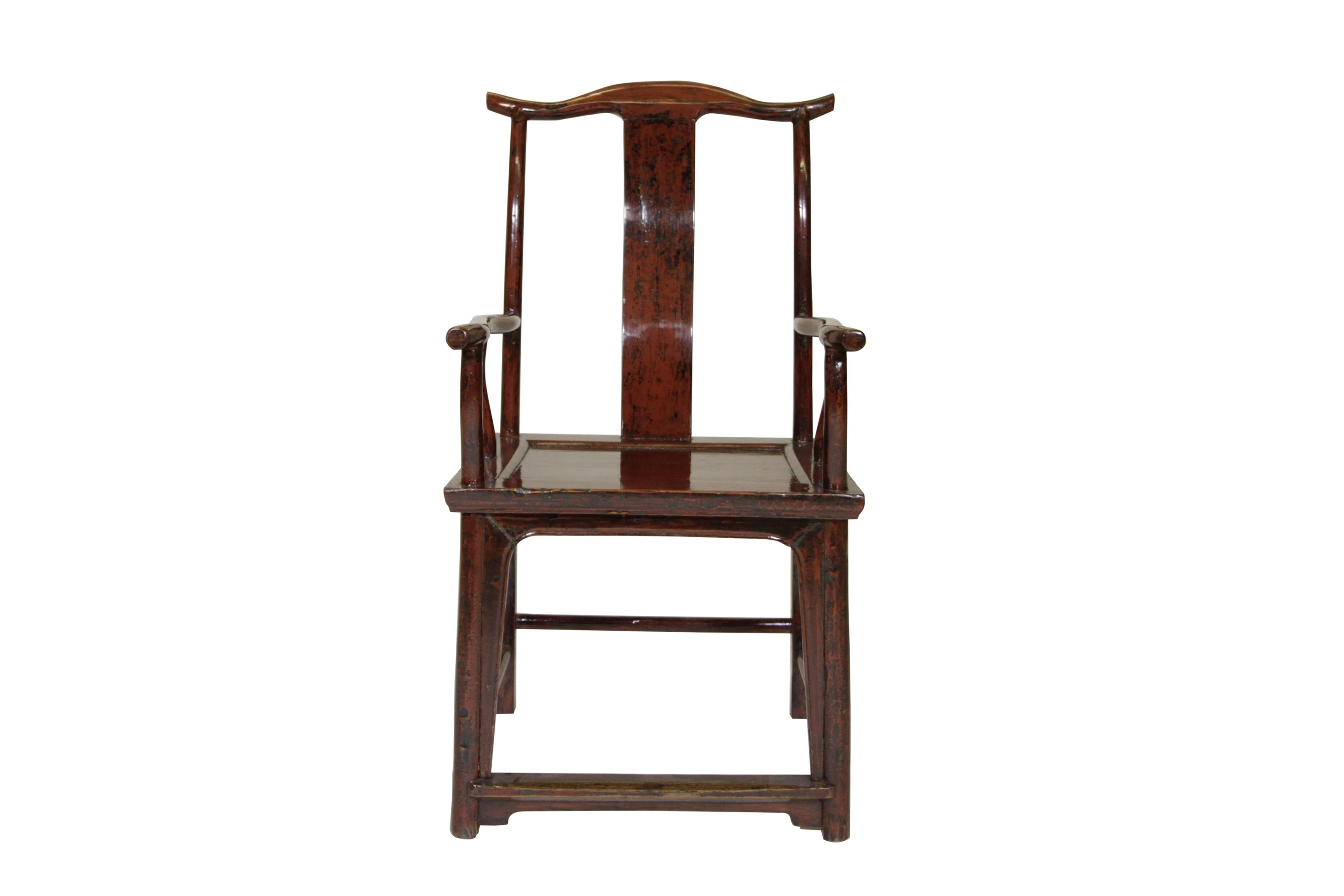 C.S. Wo & Sons Antiques   Yoke Back Chair - Item Number: 132B
