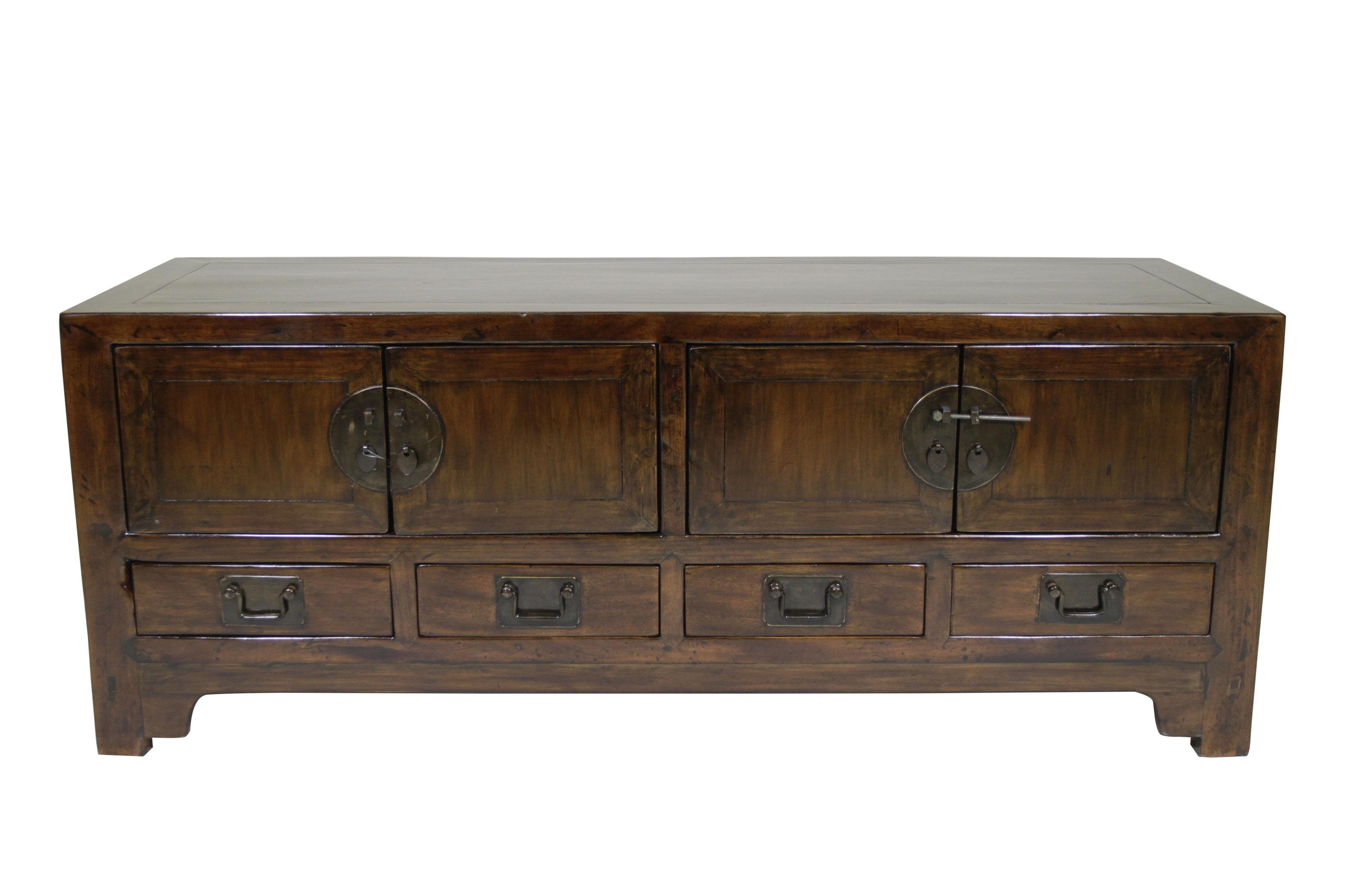 C.S. Wo & Sons Antiques   Low Side Cabinet - Item Number: 63