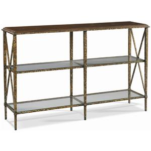 M50 Wrought Iron Console Table by CTH Sherrill Occasional