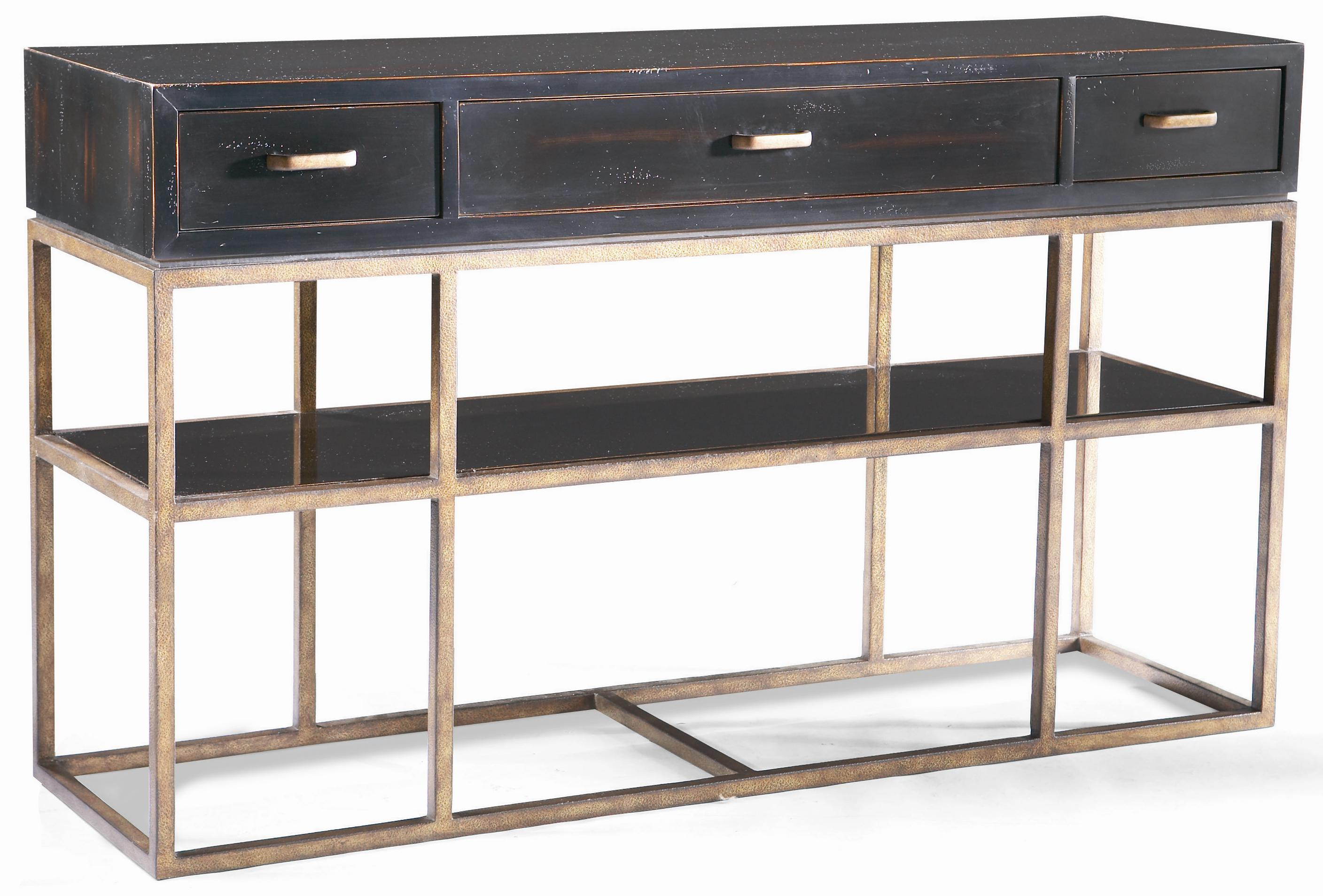 Cth Sherrill Occasional Metro Classics 322 770 Contemporary Console Table Baer S Furniture Sofa Tables Consoles