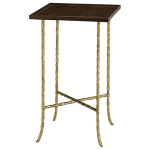 Currey & Co Accent Tables Accent Table