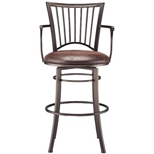 Morgan Swivel Barstool