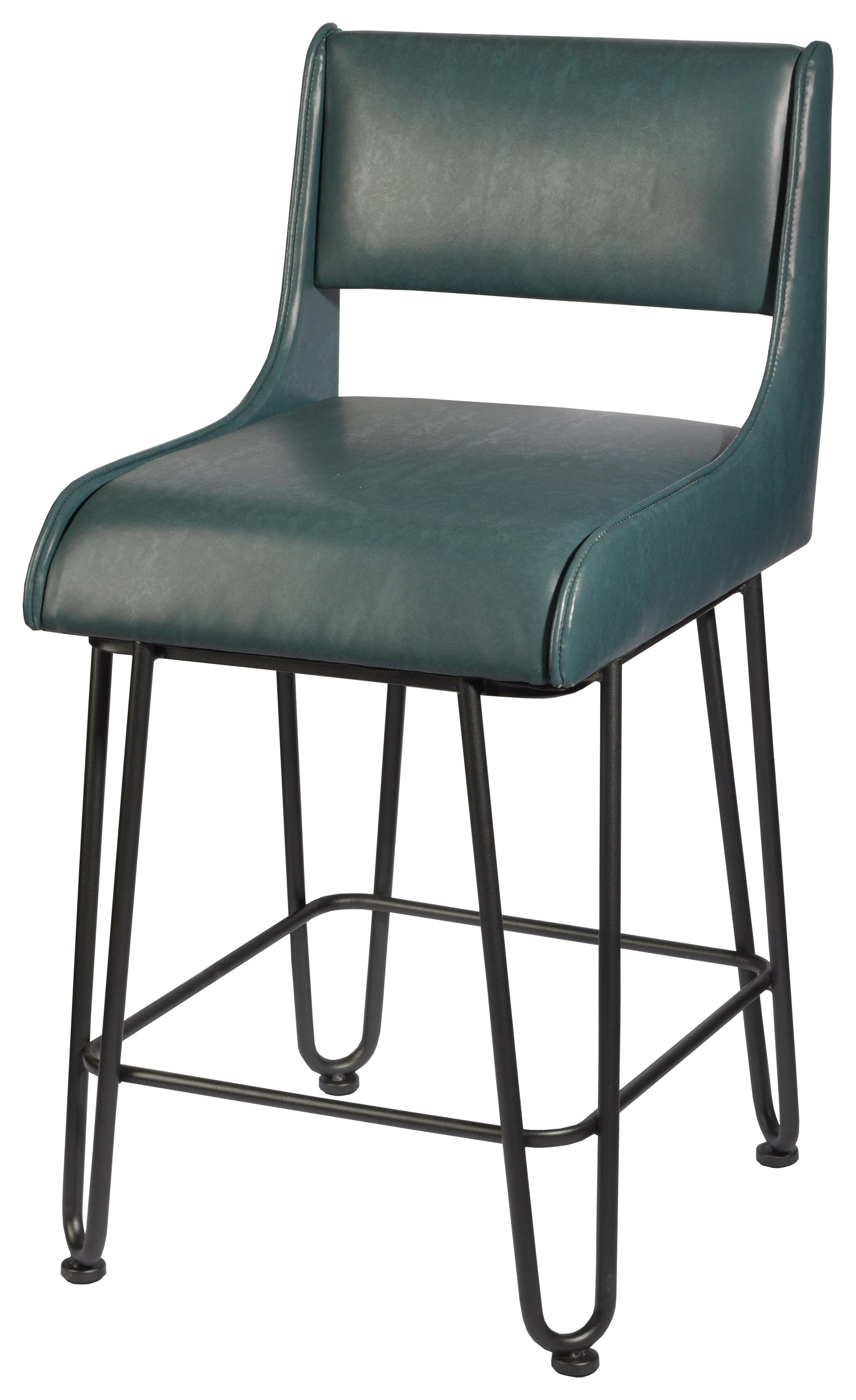 Trendy  Drake Counter Height bar stool at Walker's Furniture