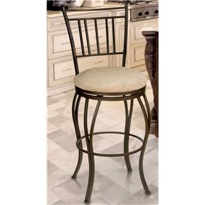 Cym Furniture Barstools Maria 24 Swivel Metal Barstool