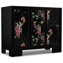 Cynthia Rowley for Hooker Furniture Cynthia Rowley - Curious Fleur de Glee Three-Door Accent Chest