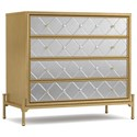 Cynthia Rowley for Hooker Furniture Cynthia Rowley - Curious Harlequin Four-Drawer Accent Chest