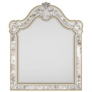Cynthia Rowley for Hooker Furniture Cynthia Rowley - Curious Swirl Venetian Mirror